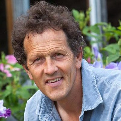Our guest lecturer, television personality Monty Don