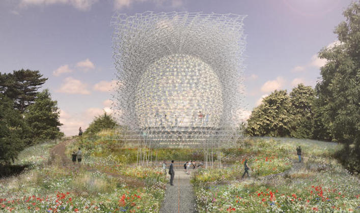 The Hive at Kew Royal Botanic Gardens