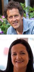 Monty Don<br>- Guest lecturer<br><em>and</em><br>Jane Webster<br>- Gourmet Guide