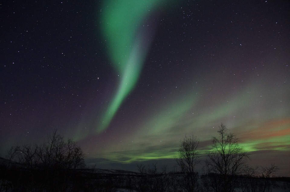 Sweden's stunning northern lights