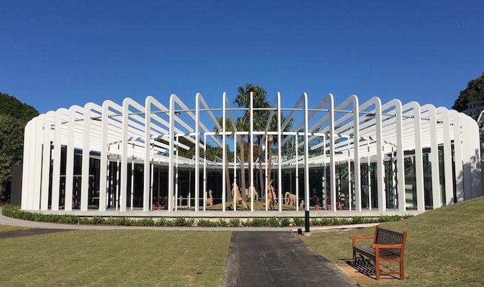 The Calyx at the Royal Botanic Gardens Sydney