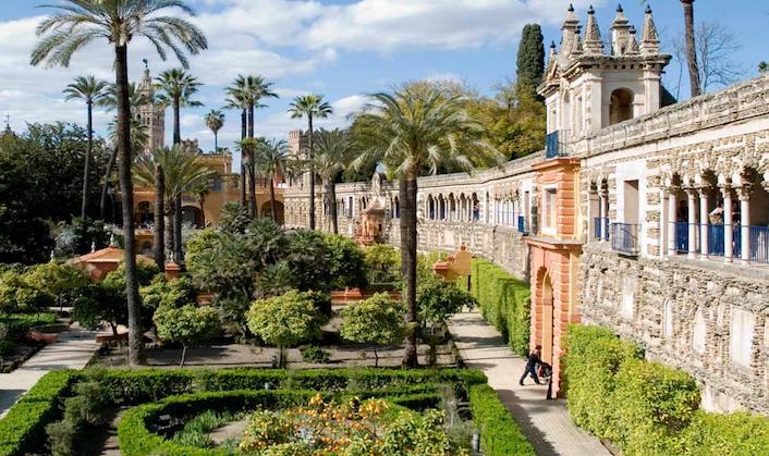 Alcazar Gardens, Spain