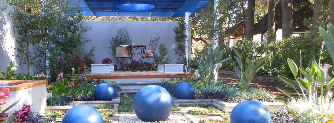 Designer gardens at Garden Worlds Spring festival 2016 Garden