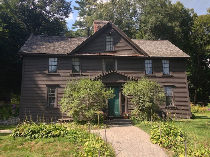 Orchard House, Louisa May Alcott's house and garden. Photo victorgrigas