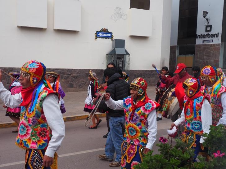Spectacular cultural festivals – a common feature in Cusco.