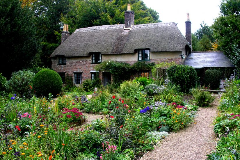 Thomas Hardy Cottage and garden. Photo Phillip Capper via Flickr