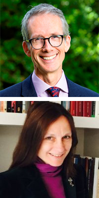 Professor Tim Entwisle<br> & Anneli Bojstad