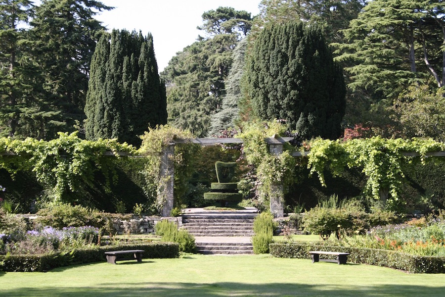 Mount Stewart garden near Belfast, Northern Ireland