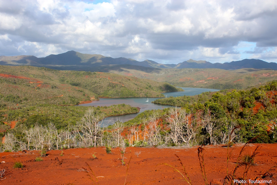Landscape Of New Caledonia Garden Travel Hub